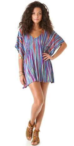 Stylmee - Ella Moss Kahlo Tunic Dress $118  #9 of The Top 10 Styles of the Week; Fashion Challenge Theme: Best Dressed Guest #fashiongame #fashion