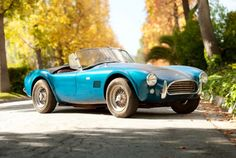 1964 Shelby Cobra 289. I want mine in flat black with glossy black racing stripes.