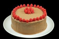 Chocolate Mousse Cake with chocolate mousse mascarpone frosting