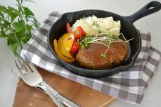 """Today, I will be making """"Japanese Hamburger Steak."""" In Japanese, """"Ham-ba-gu"""" This is one of the staples dishes of Japanese home cooking, loved by all generations. If you make good """"Ham-ba-gu"""", …"""