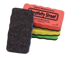 Creativity Street Magnetic Chalk and Whiteboard Erasers Magnetic White Board, Look Good Feel Good, Dry Erase Board, Cool Kids, Chalkboard, Creative, Street, Coloring Books
