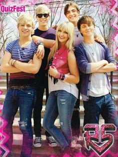 This EXACT poster is hanging in my room right this very moment. It was my first R5 poster!