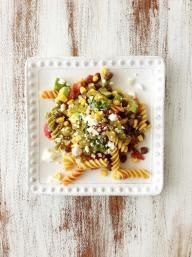 Fiesta Pasta Salad & Green Chile Lime Vinaigrette