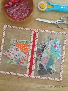 Work In Progress Bag pattern