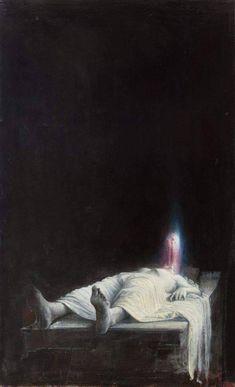 Agostino Arrivabene Anastasis I Date unknown Creepy Art, Weird Art, Arte Horror, Horror Art, Painting Inspiration, Art Inspo, Art Sinistre, Satanic Art, Arte Obscura