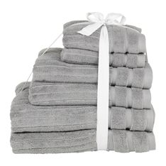 towel bale pack striped At Home Store, Towel, Packing, Bag Packaging