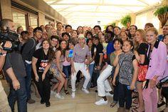 Ellen and some fans. JEALOUS!!!