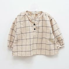 Cotton Mill Gingham Blouse