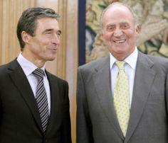 El rey Juan Carlos cumple con su agenda a una semana de la fecha estimada para la proclamación de don Felipe #royalty #realeza