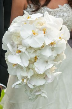 Amazing White Orchid Bouquet