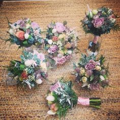 Pink wedding - April 2015 passion4Plants Florist Baildon