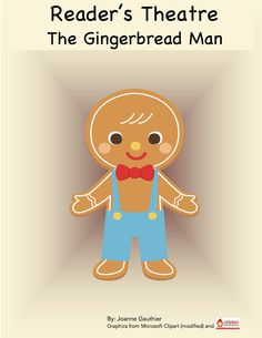 Reader's theatre script for The Gingerbread Man ~ Free!