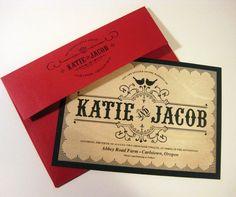 Real Wood Wedding Invitation Vintage Wooden Wedding Invitations