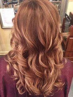 Light brown into blonde colormelt