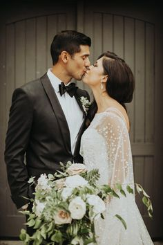 You'll Love the Fashion Choices in This Classy Cool Moss Denver Wedding
