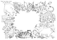 DRAW IT! COLOUR IT! - Lorna Scobie Illustration