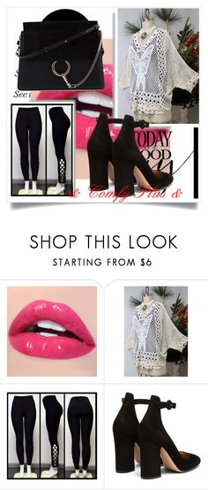 """""""// Dare2bStylish // 5/I"""" by nura-akane ❤ liked on Polyvore featuring Gianvito Rossi and Chloé"""