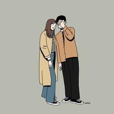 Couple Illustration, Character Illustration, Illustration Art, Cute Couple Cartoon, Cute Couple Art, Wallpaper Hp, Couple Drawings, Cute Cartoon Wallpapers, Love Art