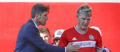 #MLS  Bastian Schweinsteiger on the bench for Chicago Fire in Knockout Round