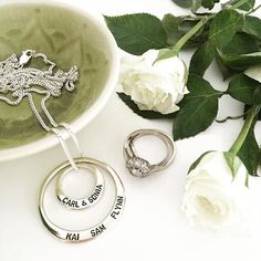 Family is everything so have them with you wherever you are. https://www.uberkate.com.au/products.php?category=Necklaces&subcategory=Ubercircles rg @lifelovehiccups