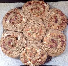 Brot & Bread: SWABIAN RYE FLOWER - SCHWÄBISCHES ROGGENBLÜMLE (WO...