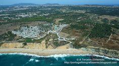 A Terceira Dimensão - Fotografia Aérea: Praia do Meco - Praia das Bicas e Praia do Moinho ...