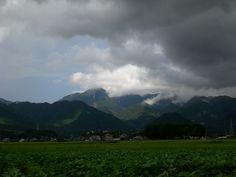 菰野町西菰野地区 雨上がり 平成24年9月1日早朝撮影