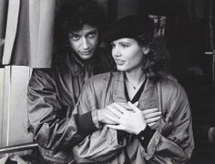 Jeff Goldblum  Gina Davis in The Fly