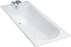 Baignoire fonte Soissons 160x70 sans pieds blanc E2931-00 - JACOB DELAFON - Sanitaire -CEDEO environ 800€