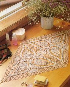 World crochet: Napkin 126