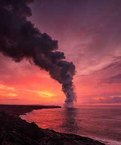 Morning Lava Rise (by Tom Kualii)