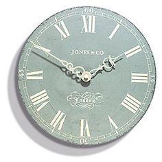 Jones - The 25cm Duck Egg DarwinWall Clock