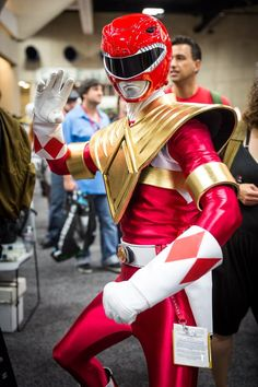 Red Ranger Cosplay - #SDCC San Diego Comic Con 2014