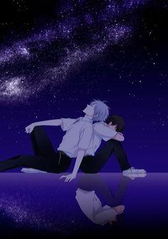 Kaworu & Shinji
