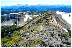 This summer: Heather Trail in Manning Park