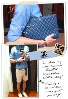 Chanel pouch | Bag Lady | Pinterest | Pouches, Hijab chic and Bag : chanel quilted lambskin clutch bag - Adamdwight.com