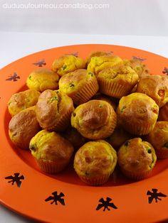 Muffins petit pois carotte