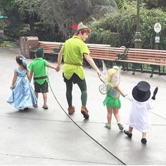 11 Adorable Kids Flawlessly Dressed as Disney Characters::| these will be my kids one day.