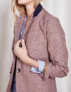 Fab Fit Tweed Blazer