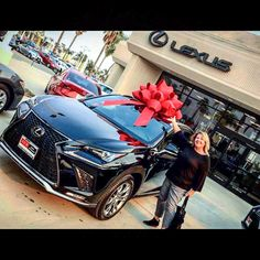 Happiness is A Choice  Congrats to the very happy Angela. Thank you so much for your business. It was a tough choice between Lexus and Range Rover. Enjoy yourself and your 2018 Lexus NX. Welcome to #DchLexusofOxnardFamily!  Five Star Service delivered by Lucas!  #Lexus #NX #RangeRover #luxury #hardchoice #LexusLife #dchlexusofoxnard