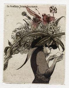 Bookplate by Eva Hoskova
