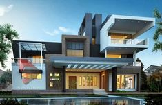Time Honored Modern Bungalow Designs In India