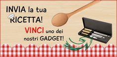ibiscusgadgetonline@gmail.com nvia la tua ricetta a Ibiscus Gadget e vinci uno dei nostri gadget.