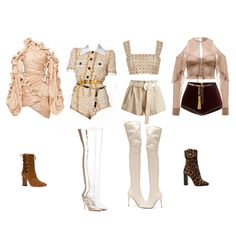 Kpop Fashion Outfits, Girls Fashion Clothes, Stage Outfits, Mode Outfits, Retro Outfits, Dance Outfits, Cute Casual Outfits, Stylish Outfits, Trendy Fashion