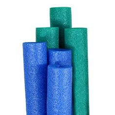 IMPORTANT LINK FOR NEW NOODLES!  Amazon.com: Robelle Big Boss Pool Noodles Teal and Blue 6-Pack: Toys & Games
