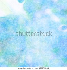 Blue Soft Watercolor Background - buy this illustration on Shutterstock & find other images.