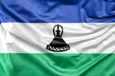 Free stock illustration. Flag of Lesotho #lesotho #africa #freestockphoto #free #freedownload #freestockphoto #freephoto #download #freedownload #stock #photo #stockphoto #freebie #freebies #flag #canvas #silk #sign #symbol #ensign #fabric #satin #illustration #textile #wave #ripple #texture #background #travel