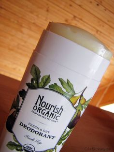COLORFUL CANARY - Organic And Natural Living: Nourish Organic Skincare & Deodorant (gluten free & vegan) @nourishorganic.com