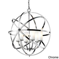 Aranya 6-light Orbit Pendant | Overstock.com Shopping - The Best Deals on Chandeliers & Pendants