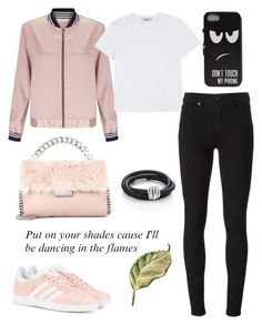 """Don't touch this!"" by schenonek ❤ liked on Polyvore featuring Miss Selfridge, Valentino, Paige Denim, adidas Originals, STELLA McCARTNEY and de Grisogono"